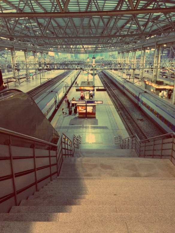Seoul Station: photo by Tara