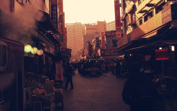 Old market Seoul: photo Tara