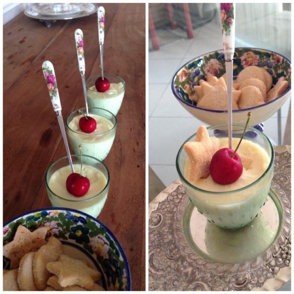 Coconut lemon cream