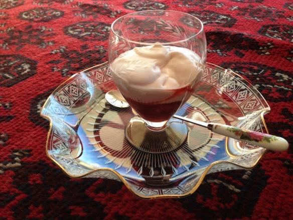 Dessert on Afghan!