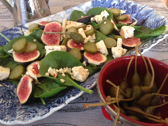 Figs, Feta & Capers