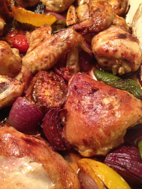Smoked Paprika Tray Baked Chicken