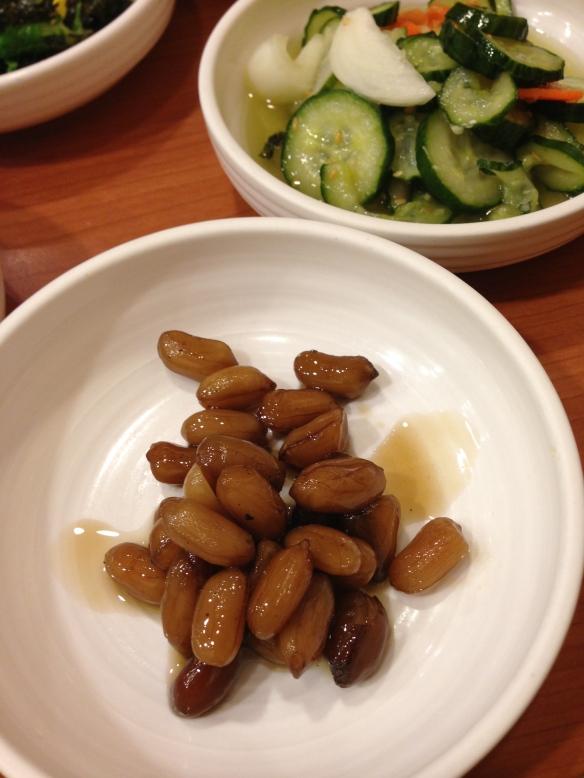 Sweet Pickeled Peanuts